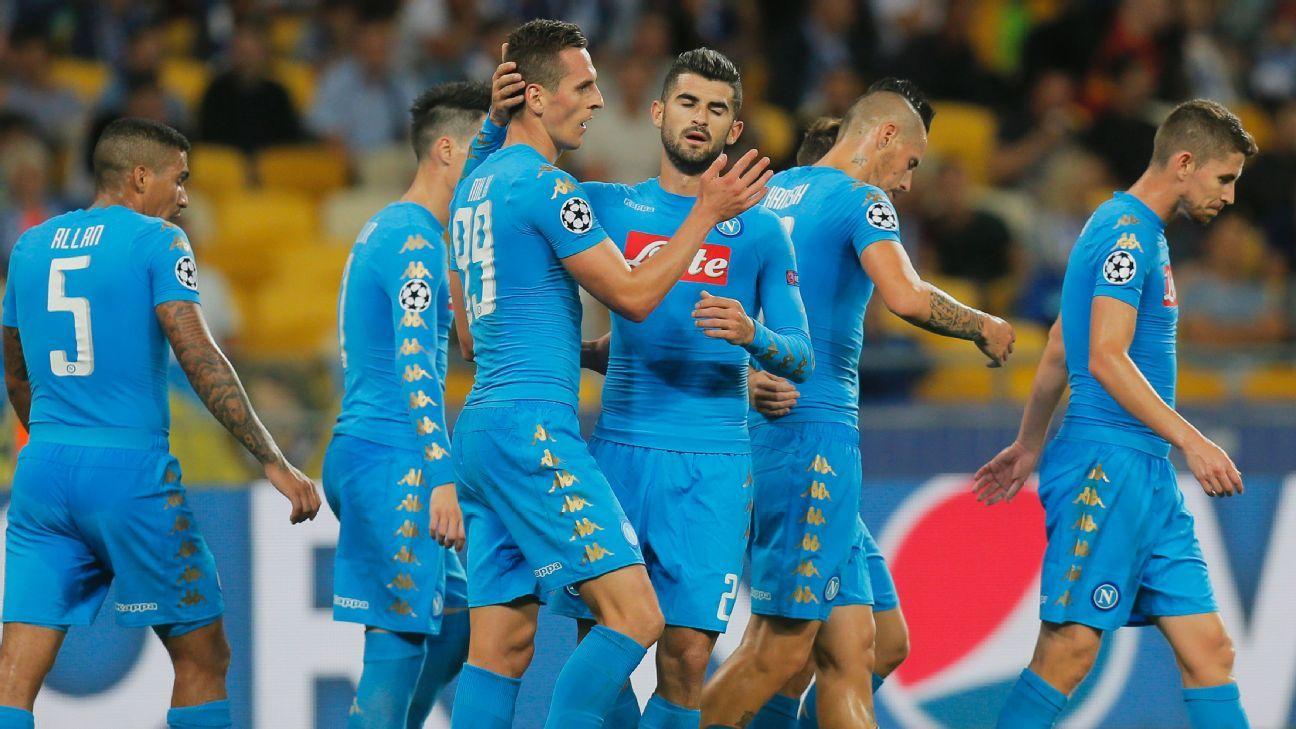 Resultado de imagem para Napoli x Dynamo Kiev