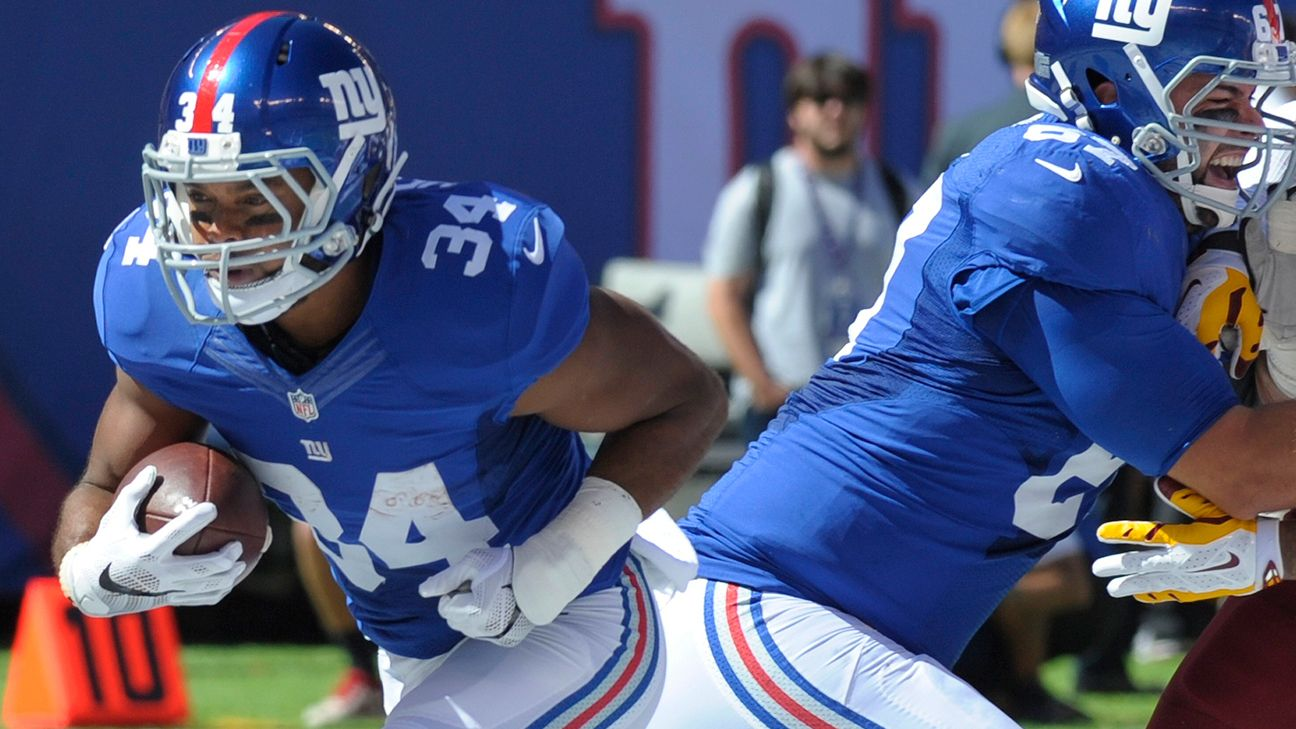 Giants send RB Shane Vereen back to IR with triceps injury