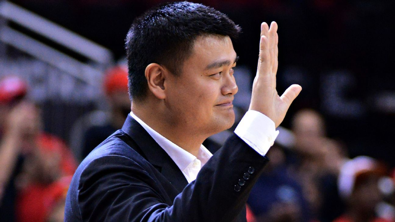 Yao Ming on upcoming Houston Rockets jersey retirement -- 'It just happened too soon'