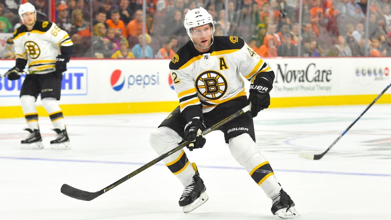 Boston Bruins David Backes To Miss Eight Weeks For Colon Surgery
