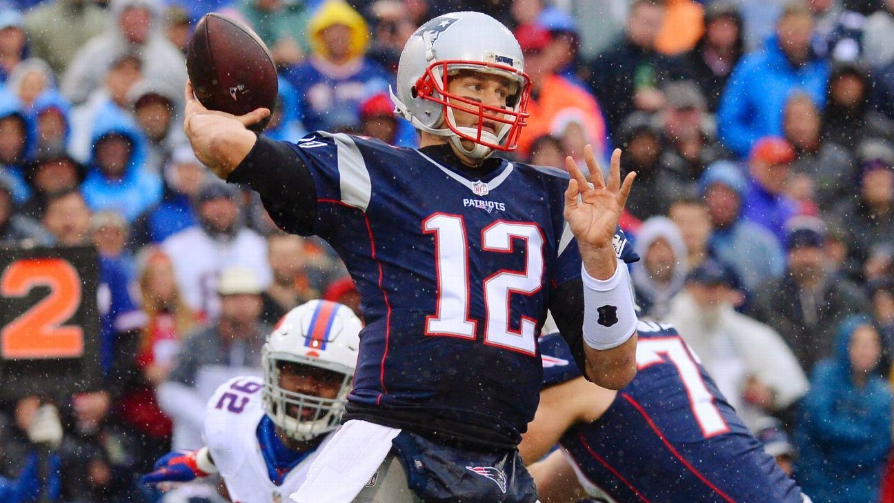 At 39, Patriots' Tom Brady still showing signs of improvement