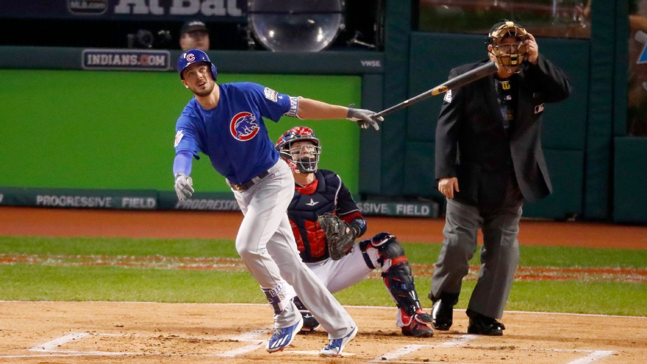 kris bryant chicago cubs highlight mvp cy young finalists