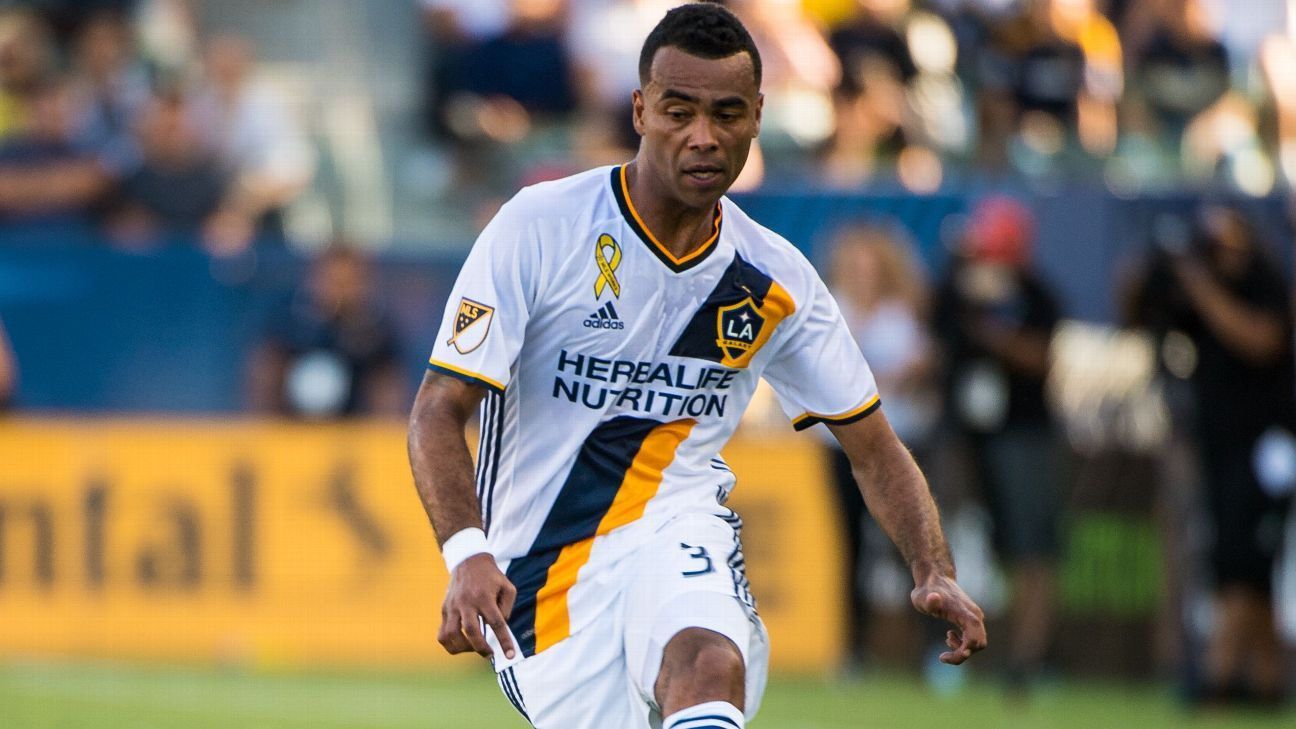 LA Galaxy defender Ashley Cole I ll keep going until my legs give out