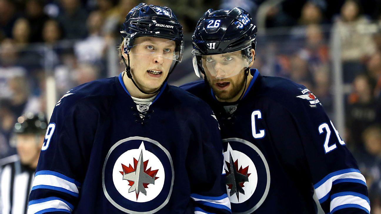 NHL -- Winnipeg Jets phenoms Patrik Laine, Mark Scheifele ...
