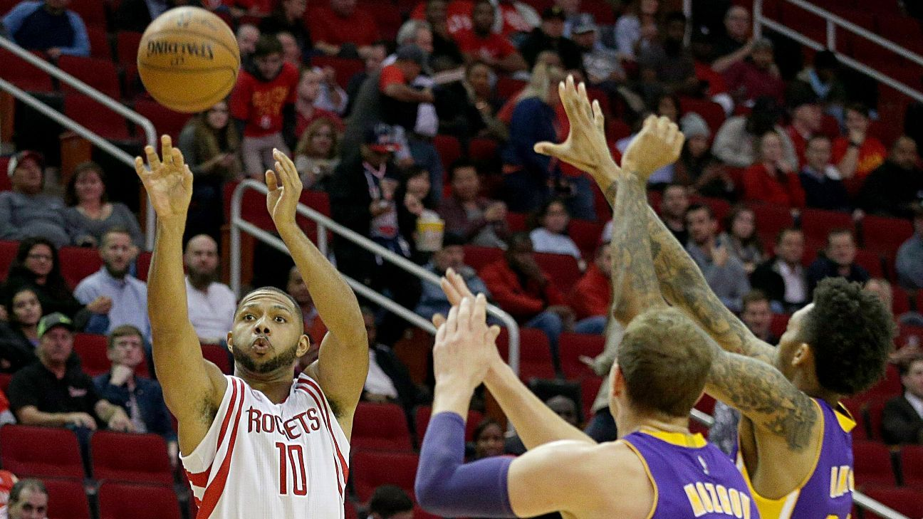 af2ac7d36b2 HOUSTON -- Eric Gordon  s night was another reason the Houston Rockets  signed him in free agency this summer. Gordon was electric Wednesday.