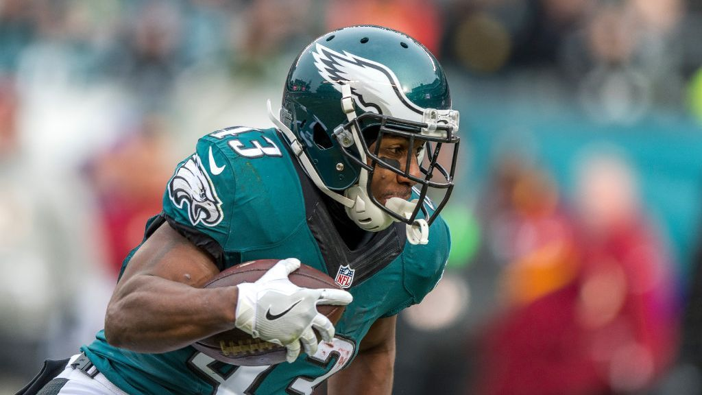 Eagles running back Darren Sproles has been ruled out of Sunday's game at the Buccaneers with a hamstring injury.