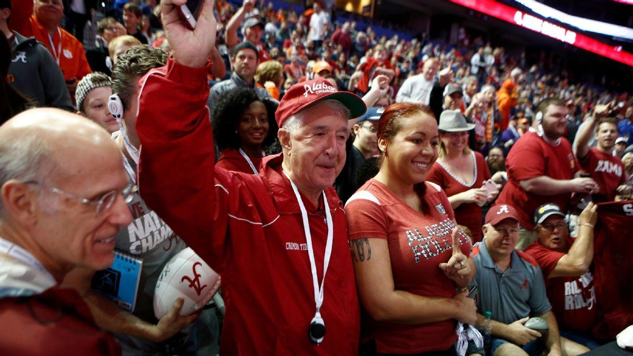 Alabama Crimson Tide Clemson Tigers fans make big sacrifices to make national championship
