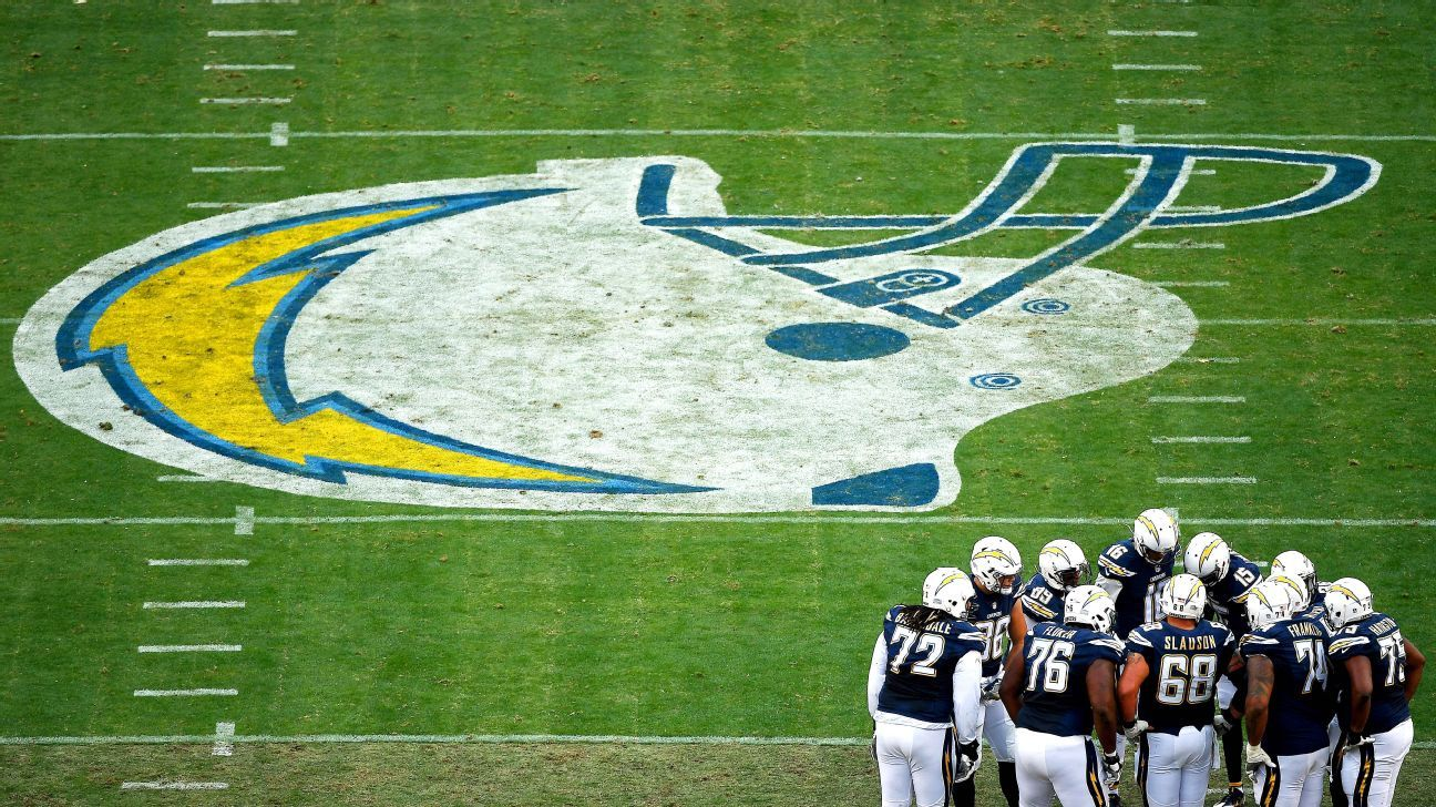 Chargers announce move to Los Angeles, leaving San Diego