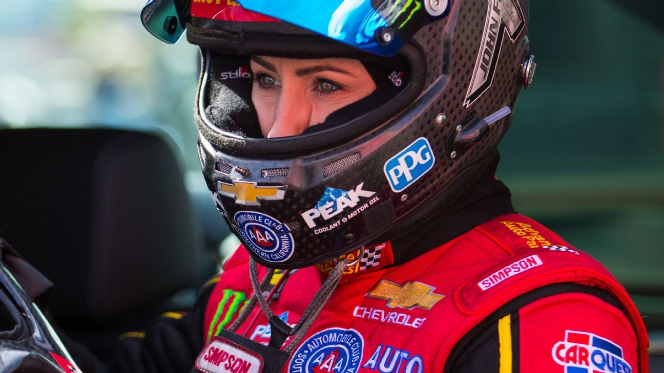 C. Force bests Funny Car track records in Ariz.