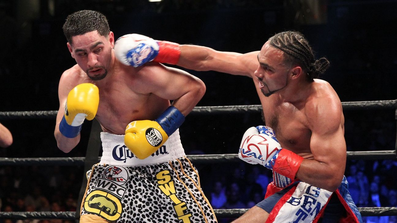 Keith Thurman edges Danny Garcia by split decision in welterweight unification bout