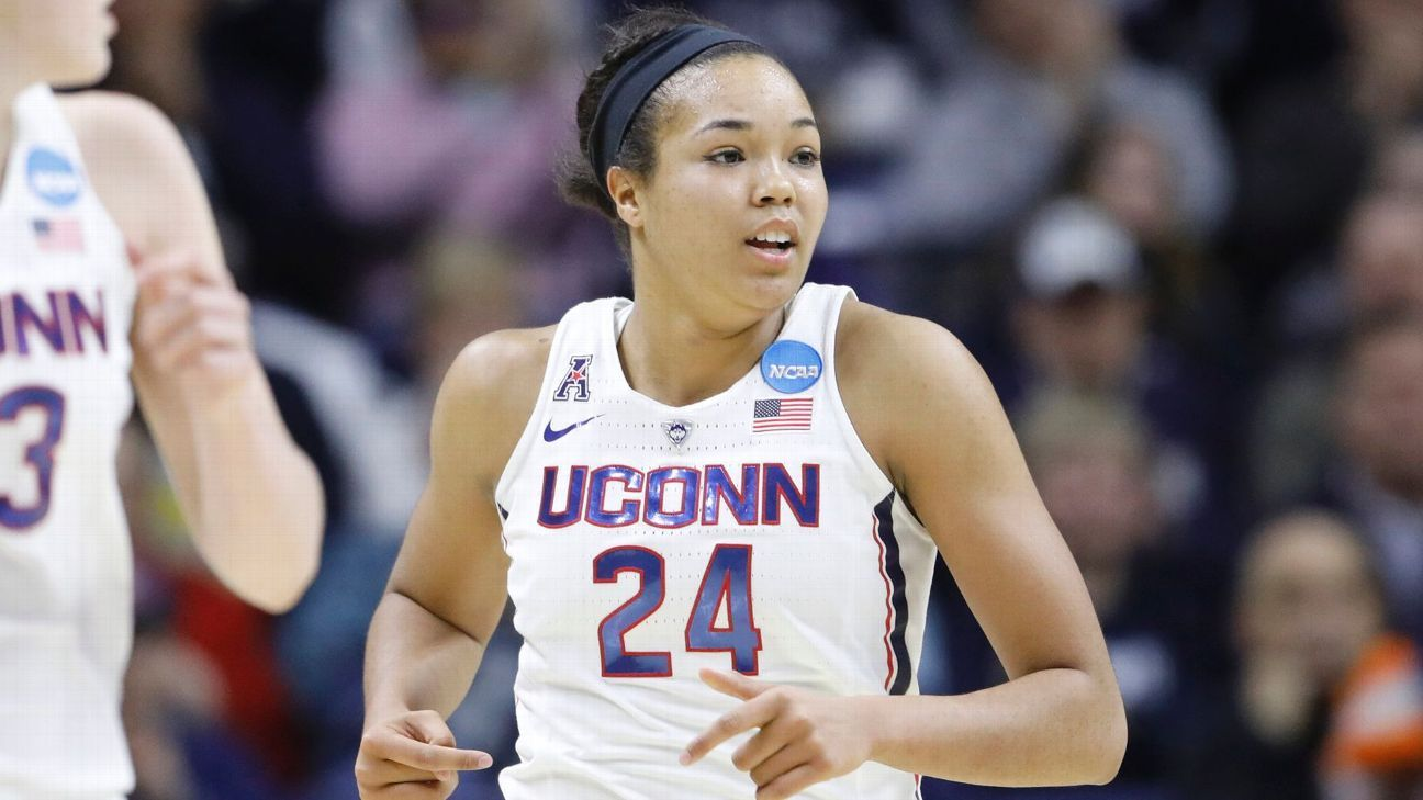 Women's Final Four - Napheesa Collier just keeps on getting better for Connecticut Huskies