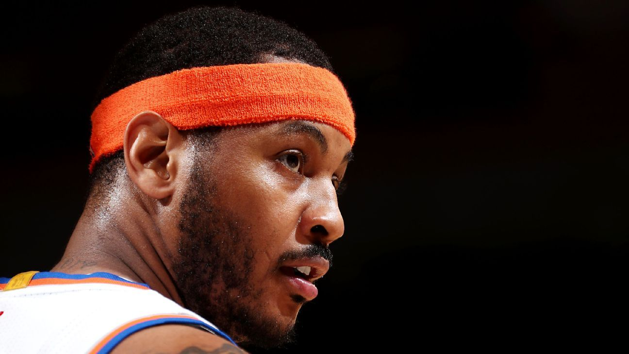 Carmelo Anthony gives New York Knicks expanded wish list of teams, including Cleveland Cavaliers