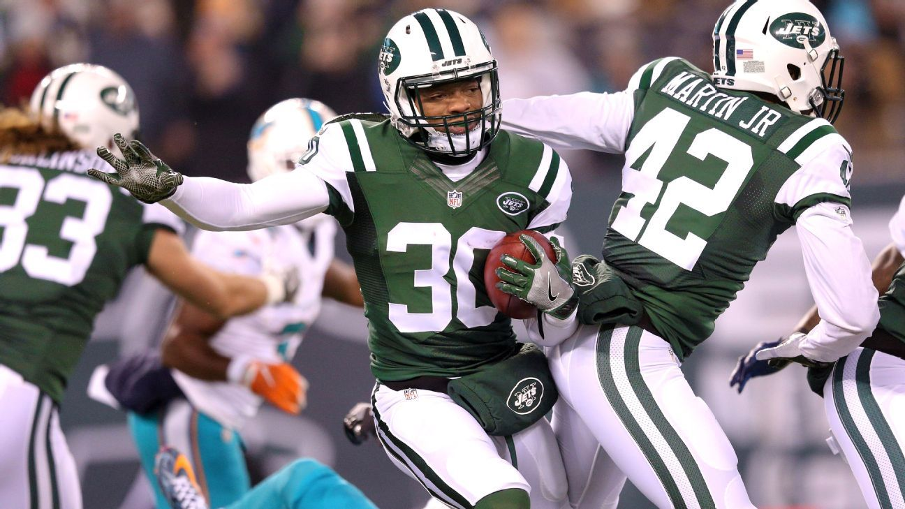 Jets CB Nick Marshall banned 4 games for violating NFL's PED policy