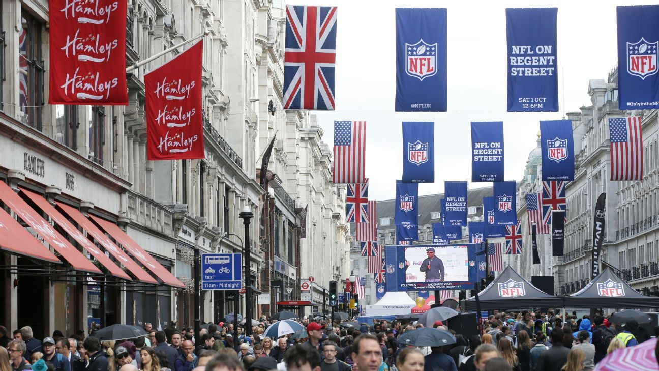 Nfl expected to consider future sunday night playoff games espn - Ranking The Five International Games On Nfl 2017 Schedule London Mexico City