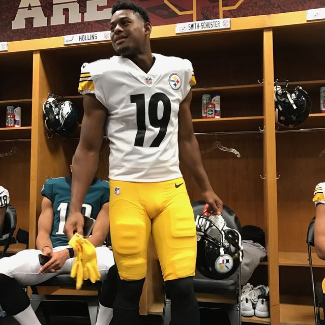 Juju Smith Schuster Delivers Block Heard Round The
