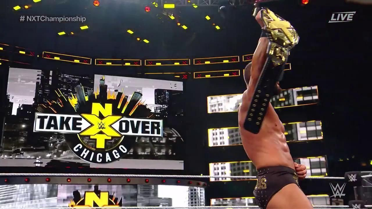 wwe nxt takeover chicago match recaps and ratings