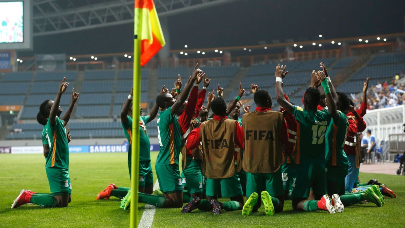 Zambia oust Germany from Under-20 World Cup