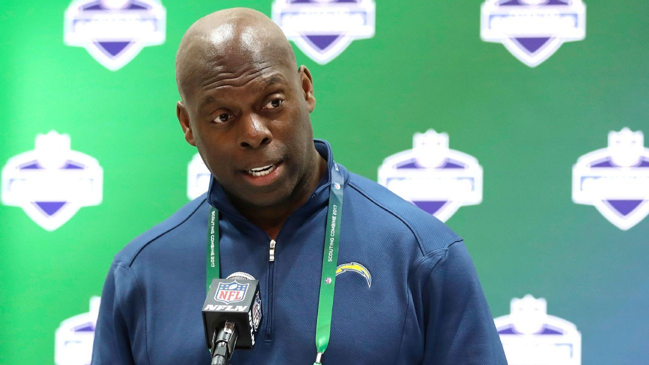 San Diego Chargers Head Coach Anthony Lynn And The