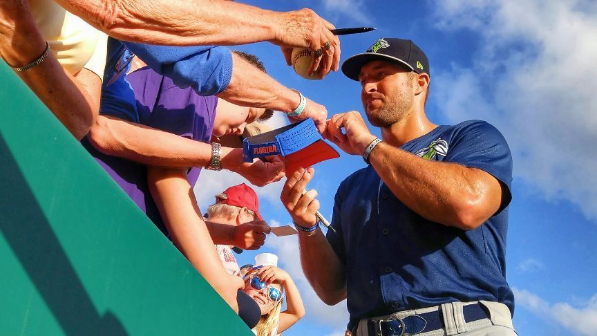 Promoted Tebow: Still have 'long way to go'