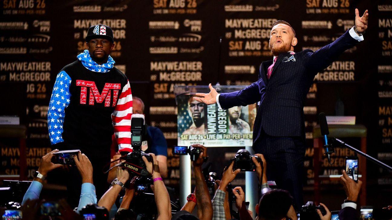 Scoring the Mayweather vs. McGregor news conferences – ESPN