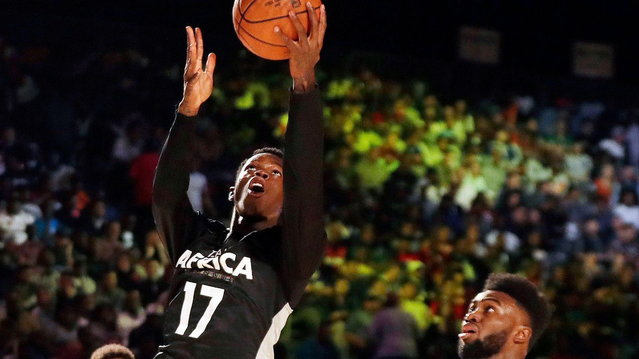 Team Africa outclassed 108-97 by Team World