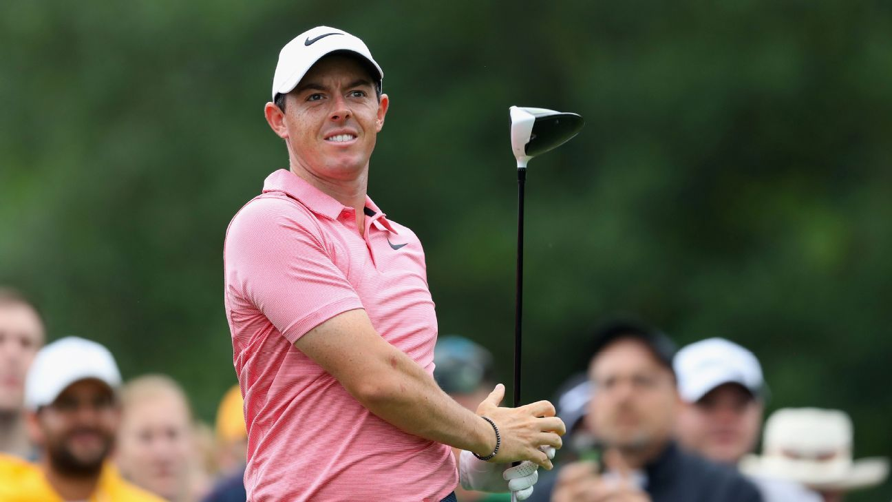 Rory McIlroy plans winter break from golf following FedEx Cup playoffs