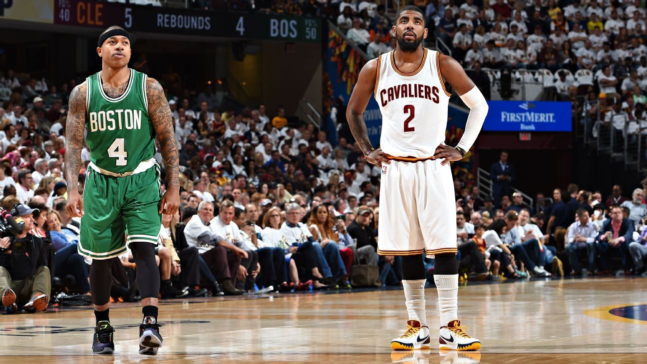 Cavs deal Kyrie to Celtics for Isaiah, Nets pick