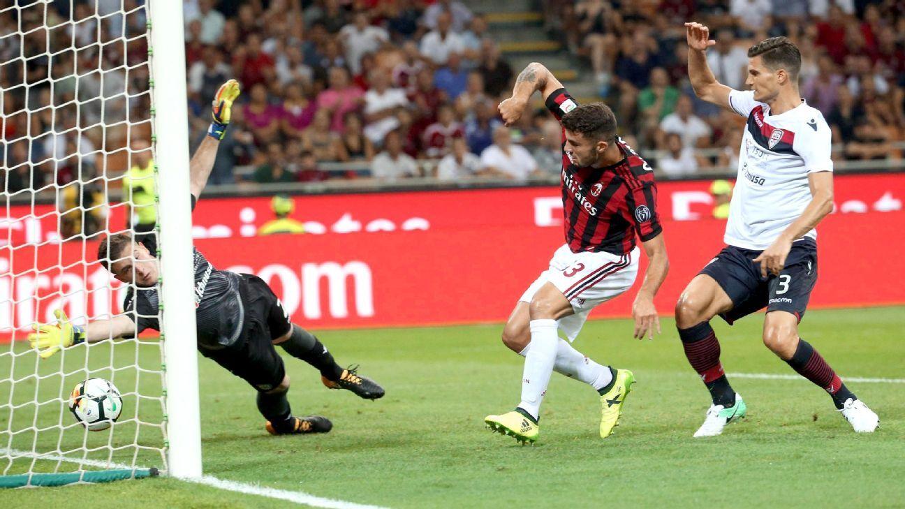 Milan Vs Cagliari: Football Match Report