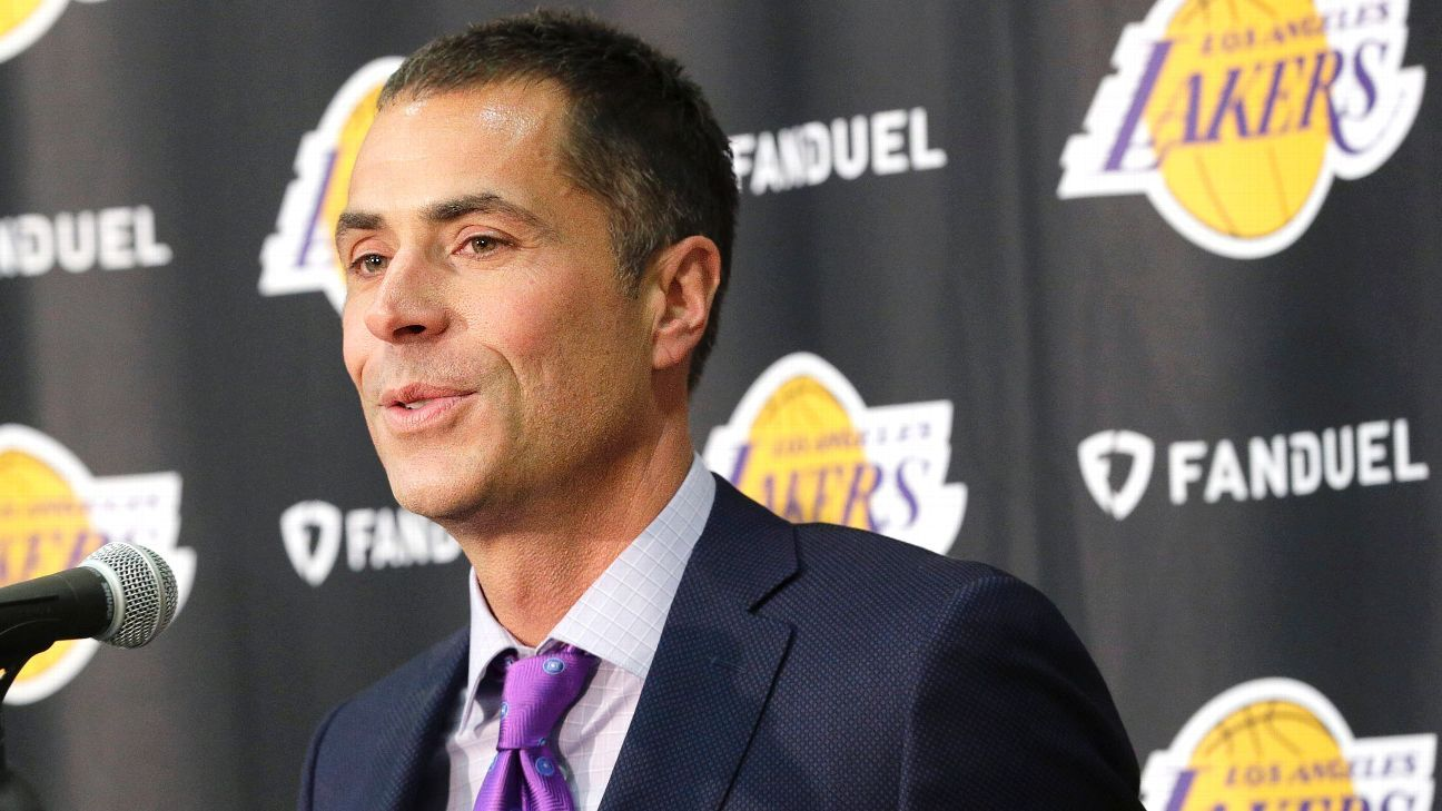Los Angeles Lakers GM Rob Pelinka built team differently around LeBron James