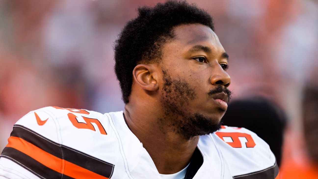Browns defensive end Myles Garrett thinks that Kevin Durant