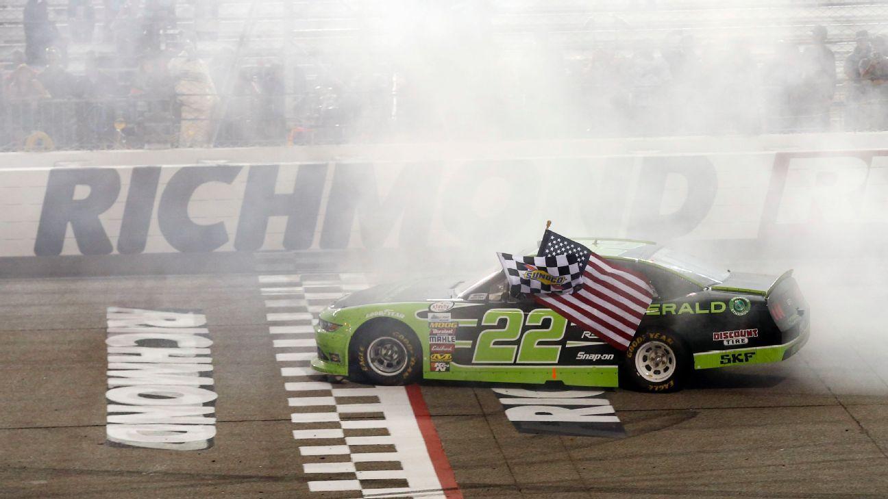 2018 NASCAR XFINITY Richmond Race Page