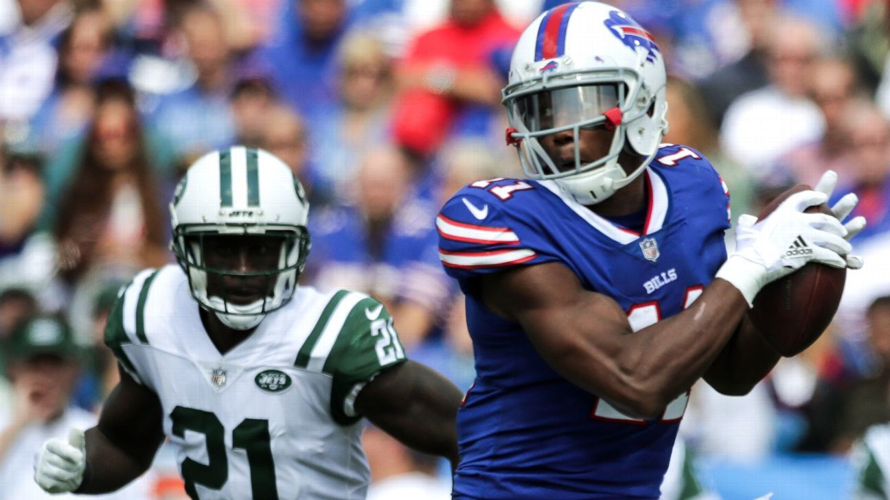 Bills receiver Zay Jones won't face criminal charges for a naked, bloody incident, of which video surfaced earlier this week.