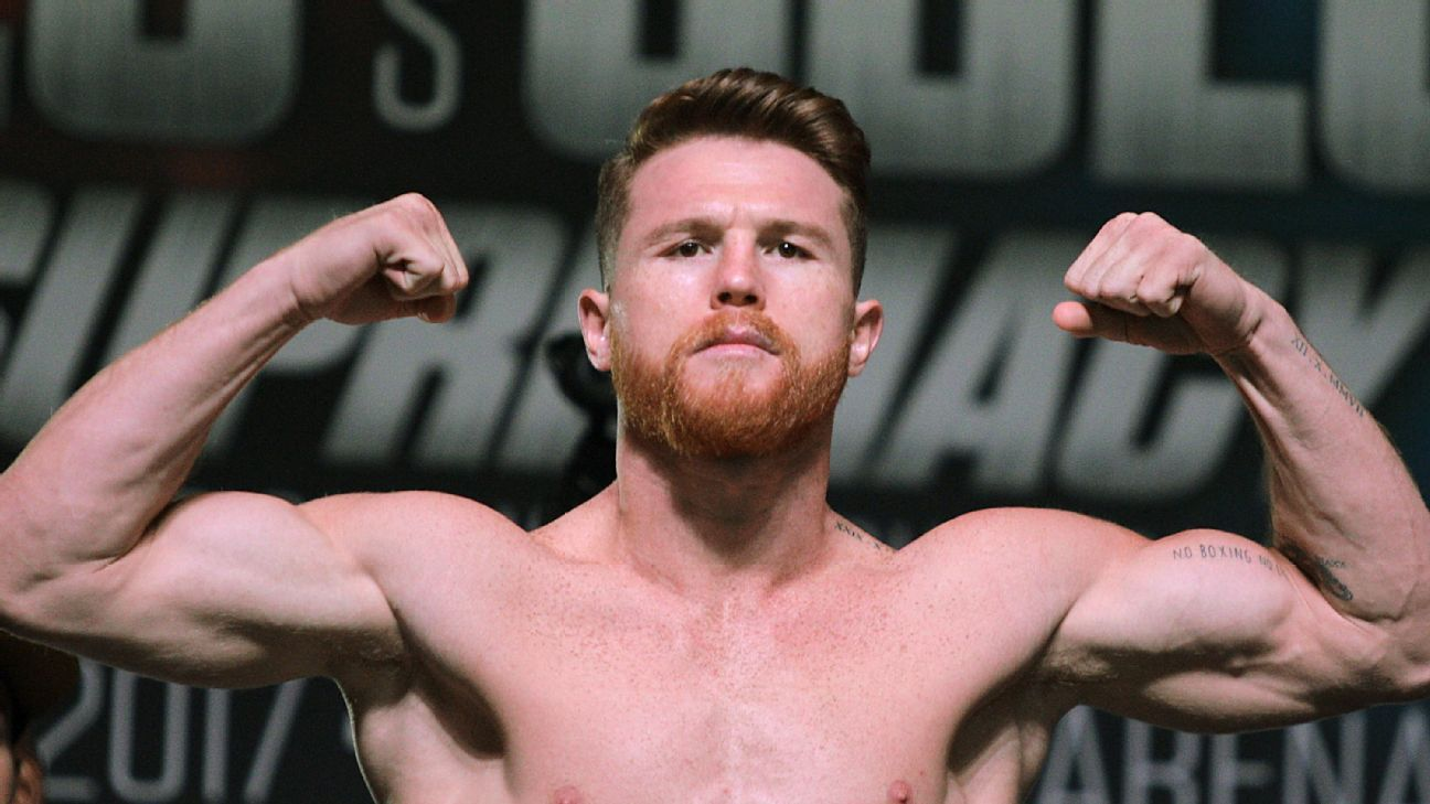 Watch how Canelo Alvarez bulked up to 160 pounds to face