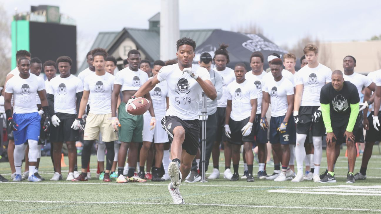 college football recruiting The football recruiting process involves camps, combines, highlight films and coordinating your efforts with your high school coach college coaches are looking far and wide for recruits no longer are they only recruiting locally.