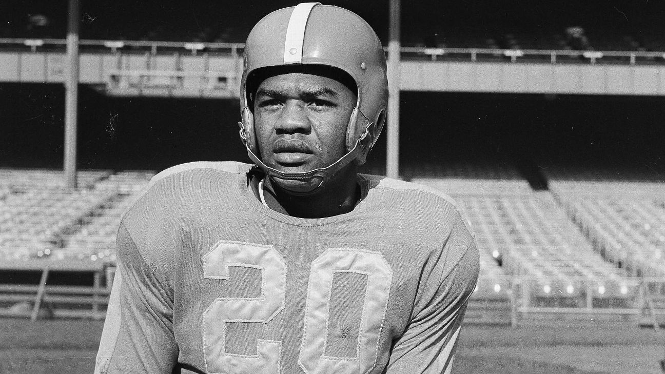 Former NFL player George Taliaferro, who was the first African-American drafted in the league, died Monday night at age 91.