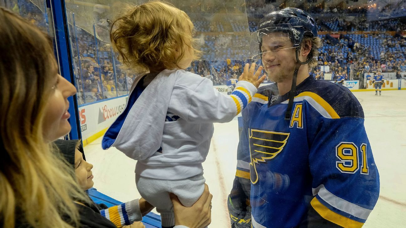Nhl Inside The Life Of St Louis Blues Superstar