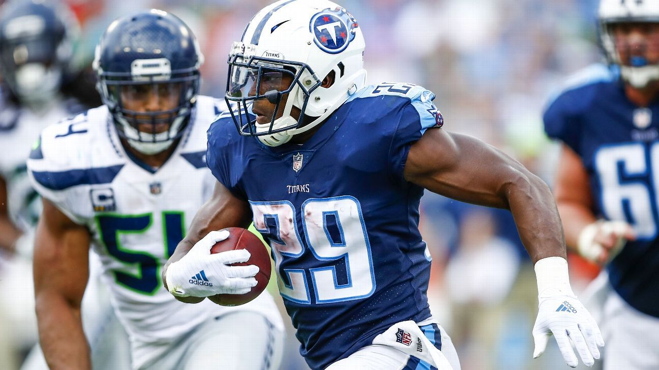 Tennessee Titans RB DeMarco Murray, TE Delanie Walker to play vs. Cleveland Browns