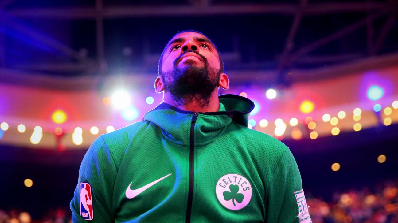 Kyrie Irving isn't afraid of change