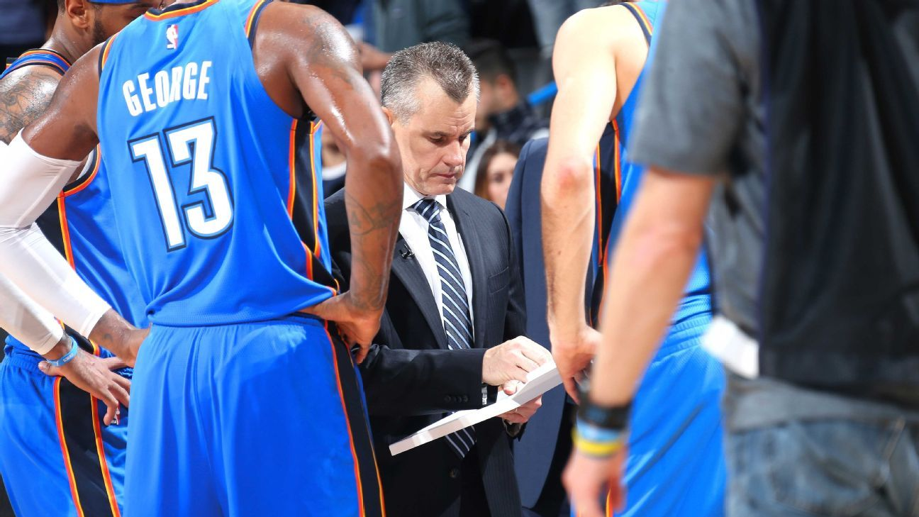 Oklahoma City Thunder hold closed door meeting following fourth