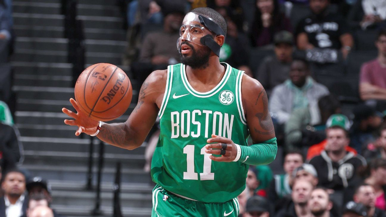 With masked Kyrie, Celtics reveal more ways to keep streak alive