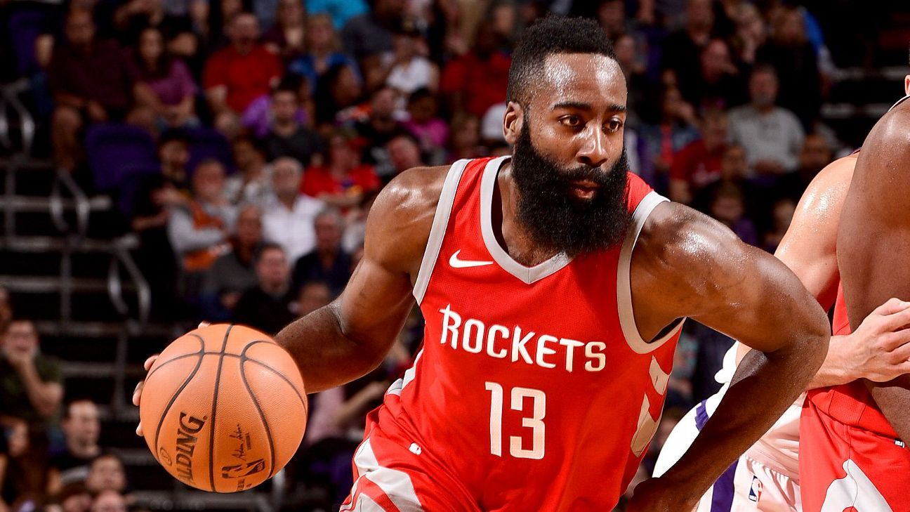 Rockets' Harden exits with strained hamstring