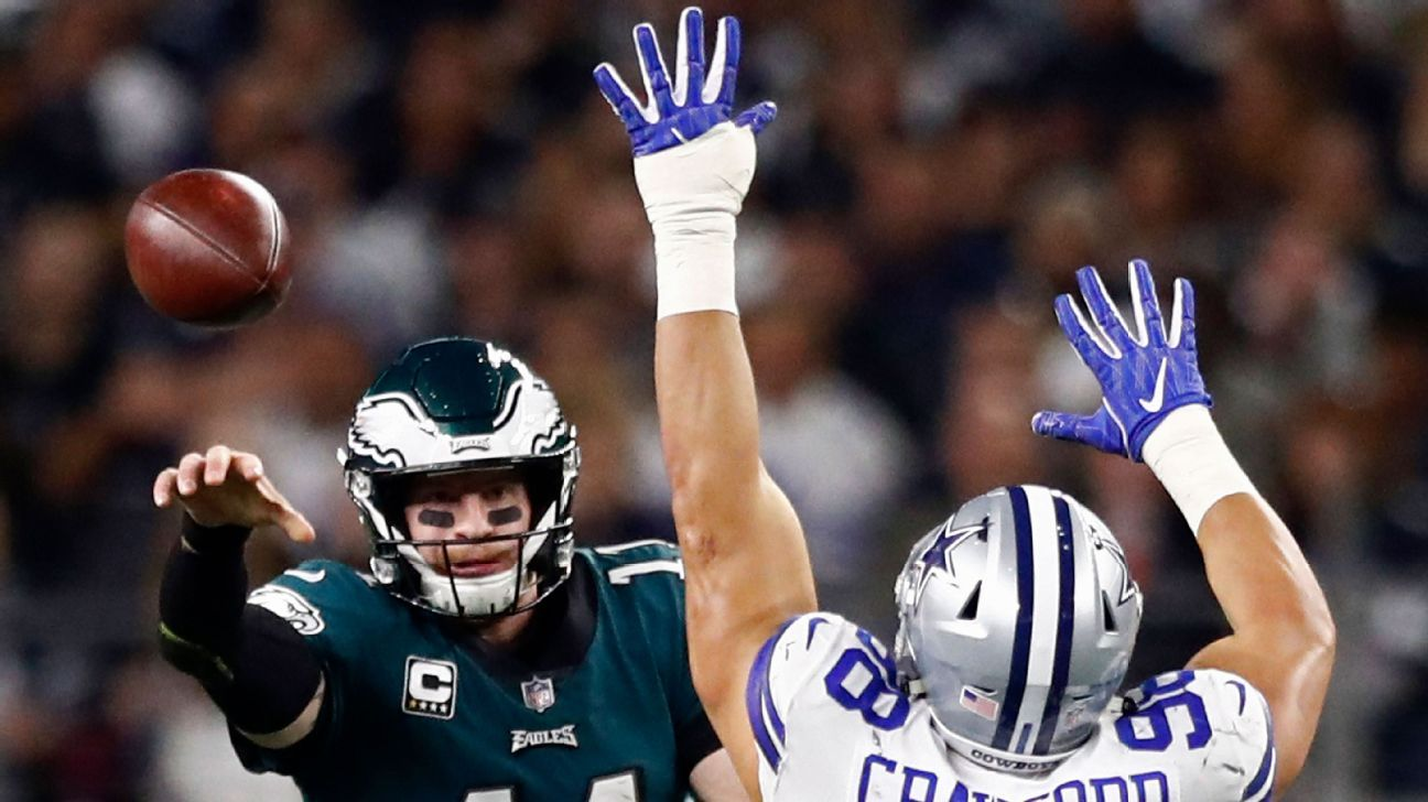 Eagles put Cowboys, NFC East in rearview mirror with 30-point second half