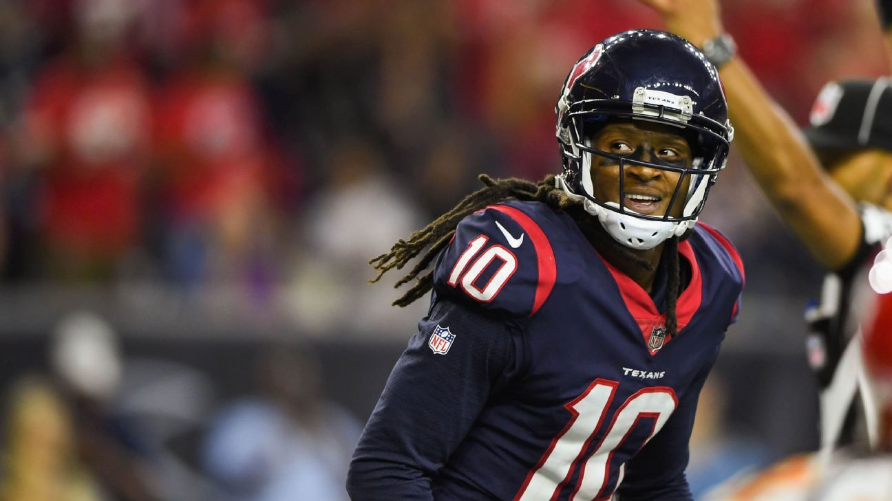Texans wide receiver DeAndre Hopkins believes he's