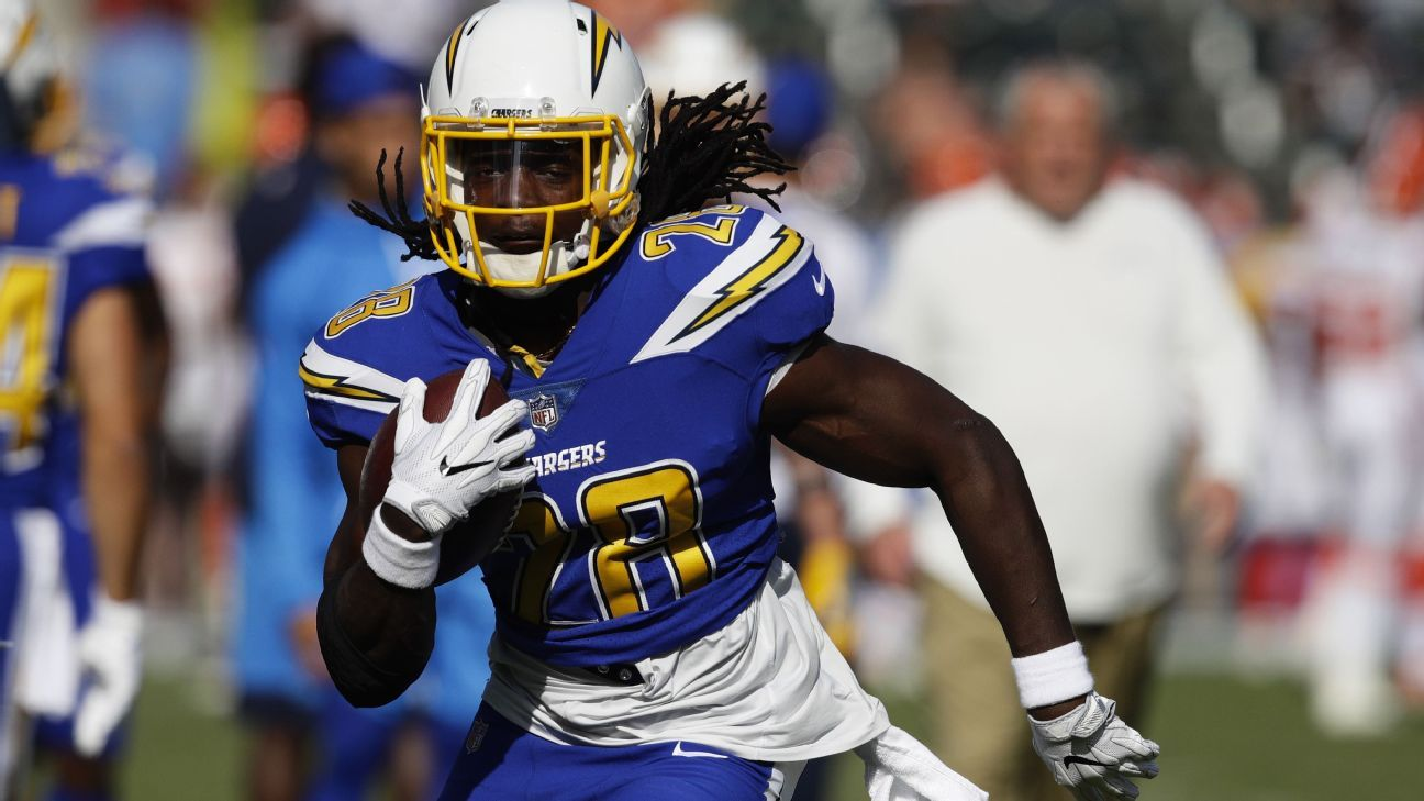 The Los Angeles Chargers have exercised running back Melvin Gordon's 2019 fifth-year option, a league source told ESPN.