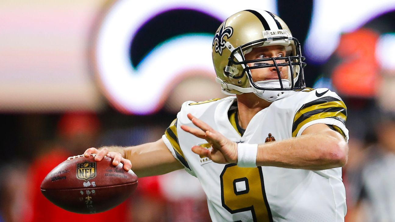 Saints' Drew Brees on Thursday game injuries: 'It'll be addressed'