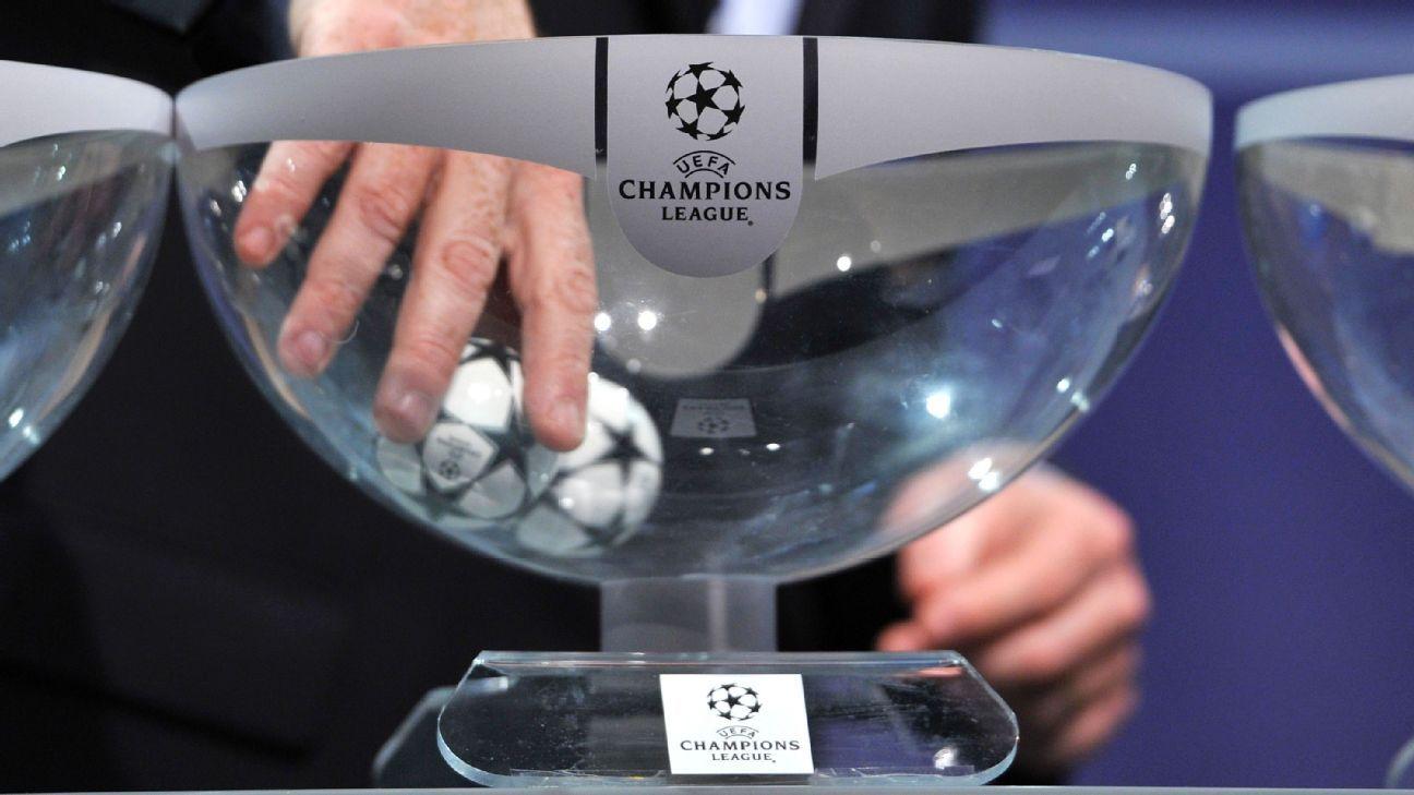 date des rencontres de la ligue des champions