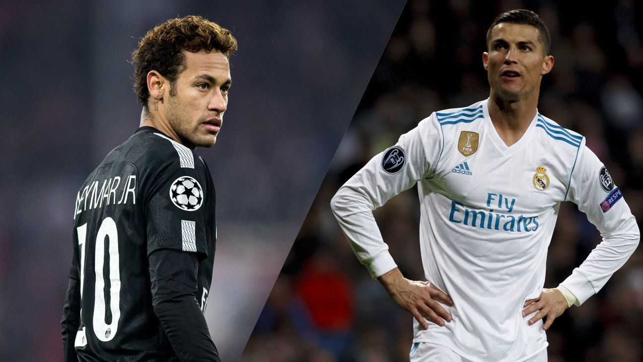 Champions League Draw Neymar To Haunt Real Chelsea To border=