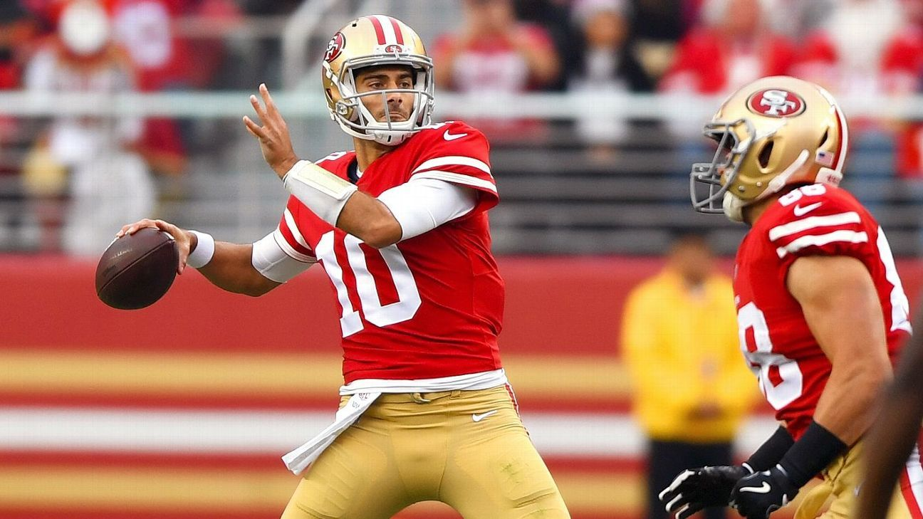 With win against Jaguars, 49ers proving all is possible with Jimmy Garoppolo - San Francisco ...