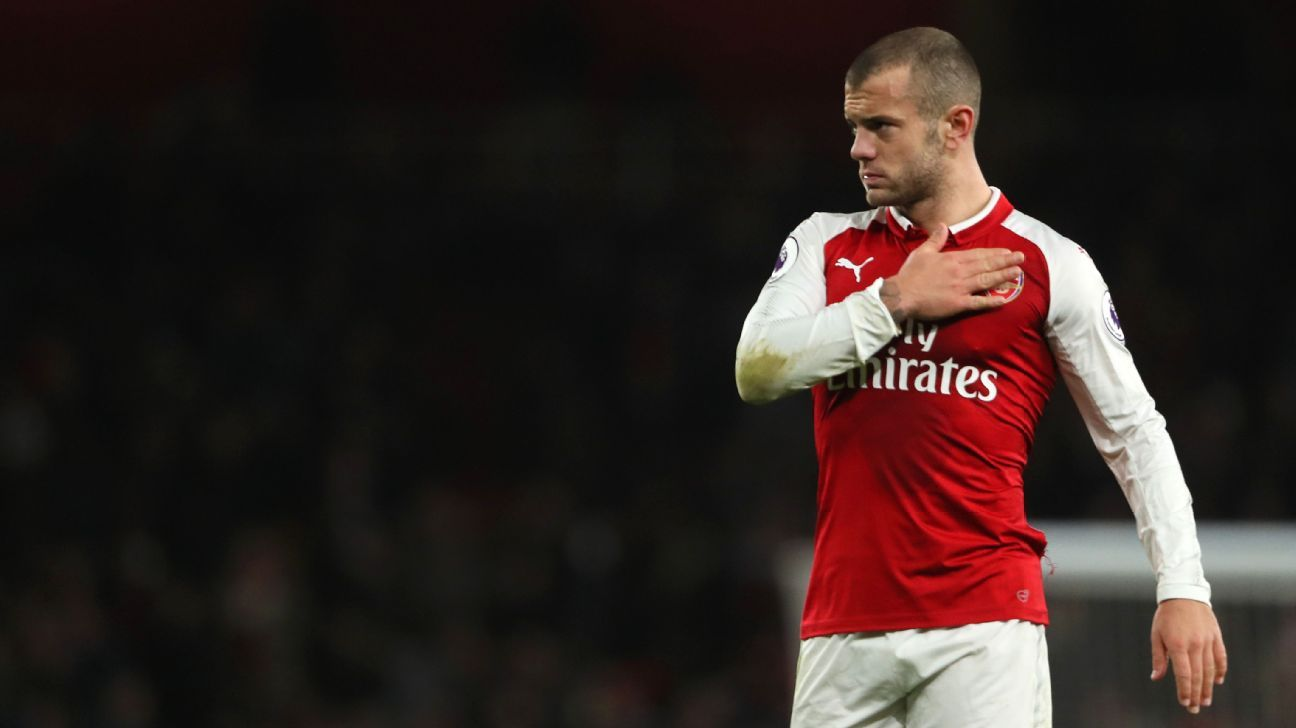 Arsenal's Jack Wilshere thought World Cup chance with England had gone