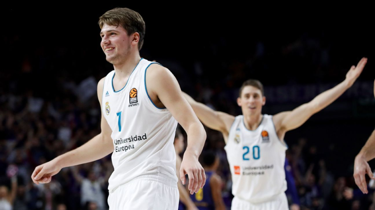 Is Luka Doncic losing his grasp on the No. 1 pick?
